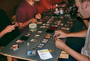giocatori impegnati in un torneo
