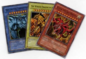 alcune carte di yu gi oh