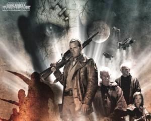 i personaggi di una locandina mutant chronicles