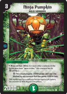 carte Duel Masters verde