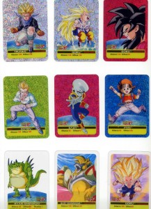 carte gioco dragon ball