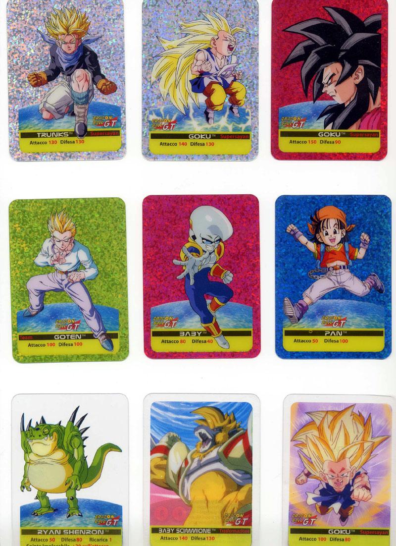 dragon ball trading card game il gioco di carte