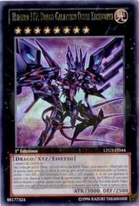 yugioh carta numero 107 drago galattico occhi tachionici