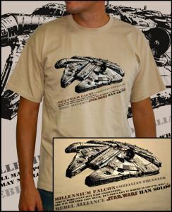 magliette collezione Star Wars