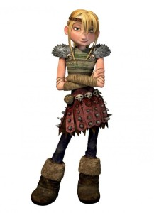 Astrid personaggi dragon trainer