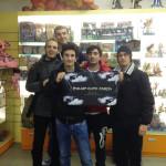 YuGiOh torneo WCQ 2013 italian elite force team