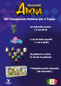 Kit Campionato italiano Krosmaster Arena