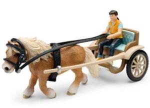 accessori animali schleich - calesse