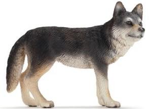 animali del bosco schleich lupo