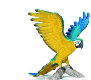 animali schleich pappagallo
