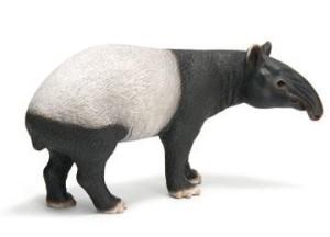 animali selvatici schleich tapiro