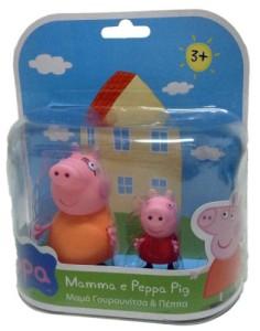 pupazzi peppa pig - miniature mamma pig e peppa pig