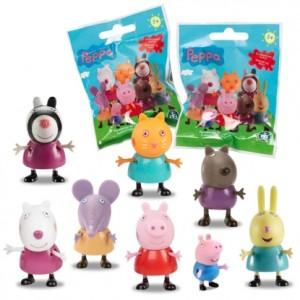 pupazzi peppa pig - miniature  serie amici peppa pig