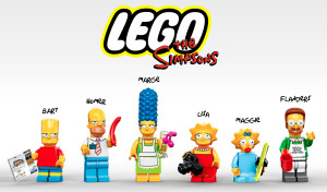 Lego Minifigures Simpsons