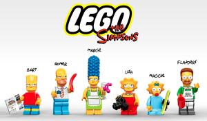 Lego Minifigures Simpsons