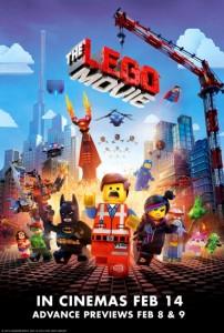 Lego movie e lego minifigures del film locandina
