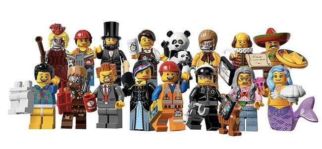 personaggi  lego movie Lego minifigure