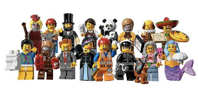 personaggi  lego movie Lego minifigure