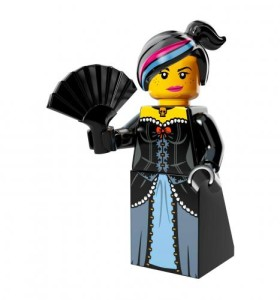 personaggi lego movie Lucy Wild West Wyldestyle Lego minifigure