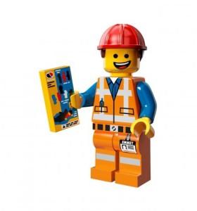 personaggi  protagonista lego movie Emmet Brickowski Lego minifigure
