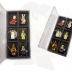 scatoletta velluto lego minifigure