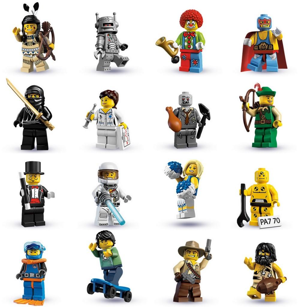tutte le serie lego minifigure - serie 1