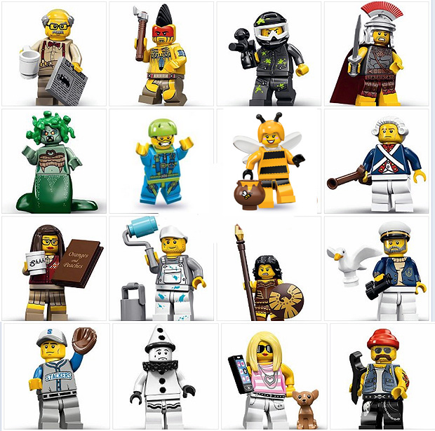 tutte le serie lego minifigure - serie 10