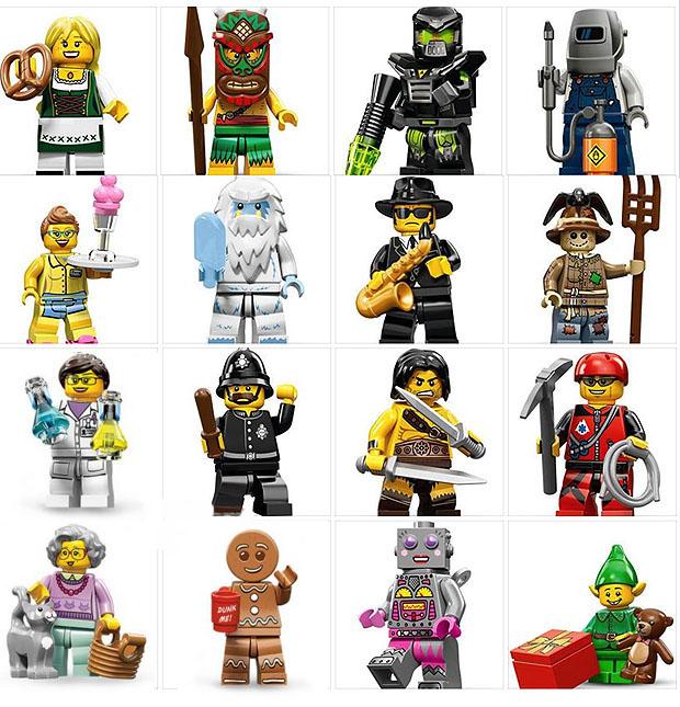 tutte le serie lego minifigure - serie 11