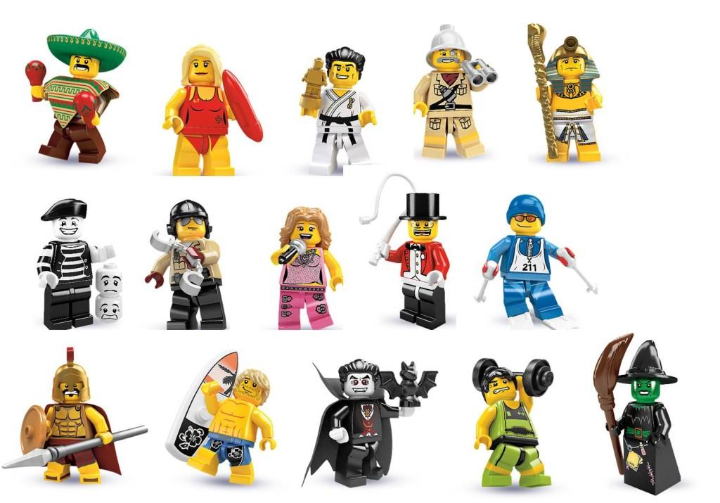 tutte le serie lego minifigure - serie 2