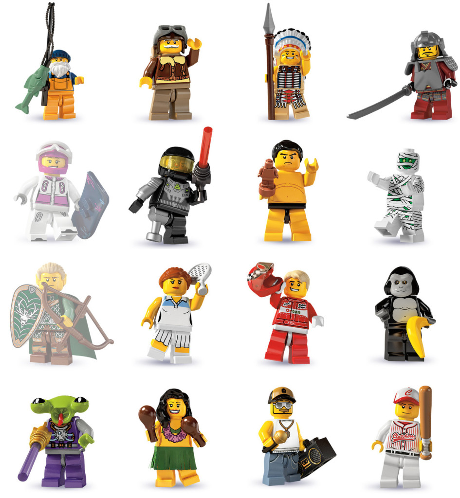 tutte le serie lego minifigure - serie 3