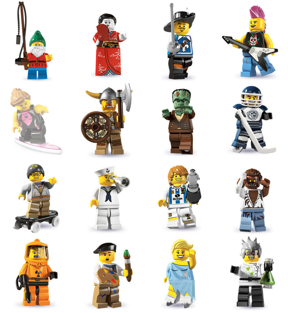tutte le serie lego minifigure - serie 4