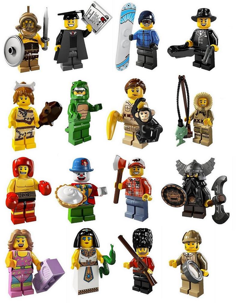 tutte le serie lego minifigure - serie 5