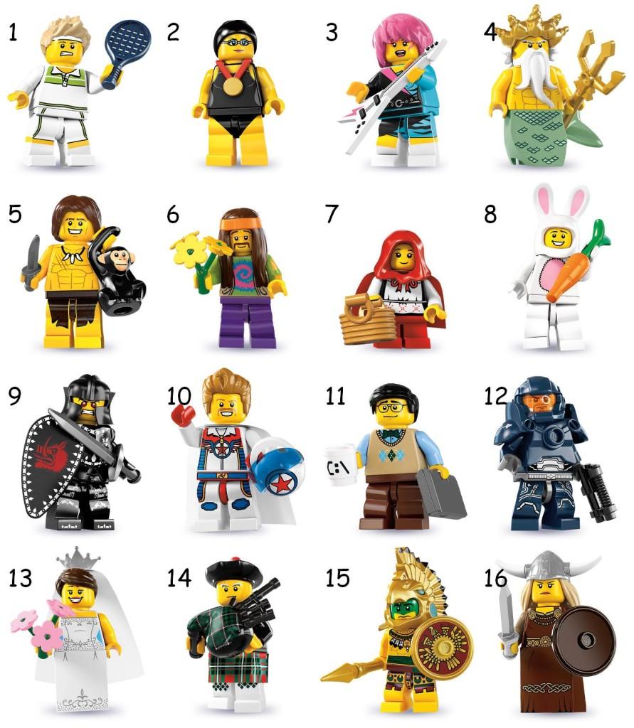tutte le serie lego minifigure - serie 7