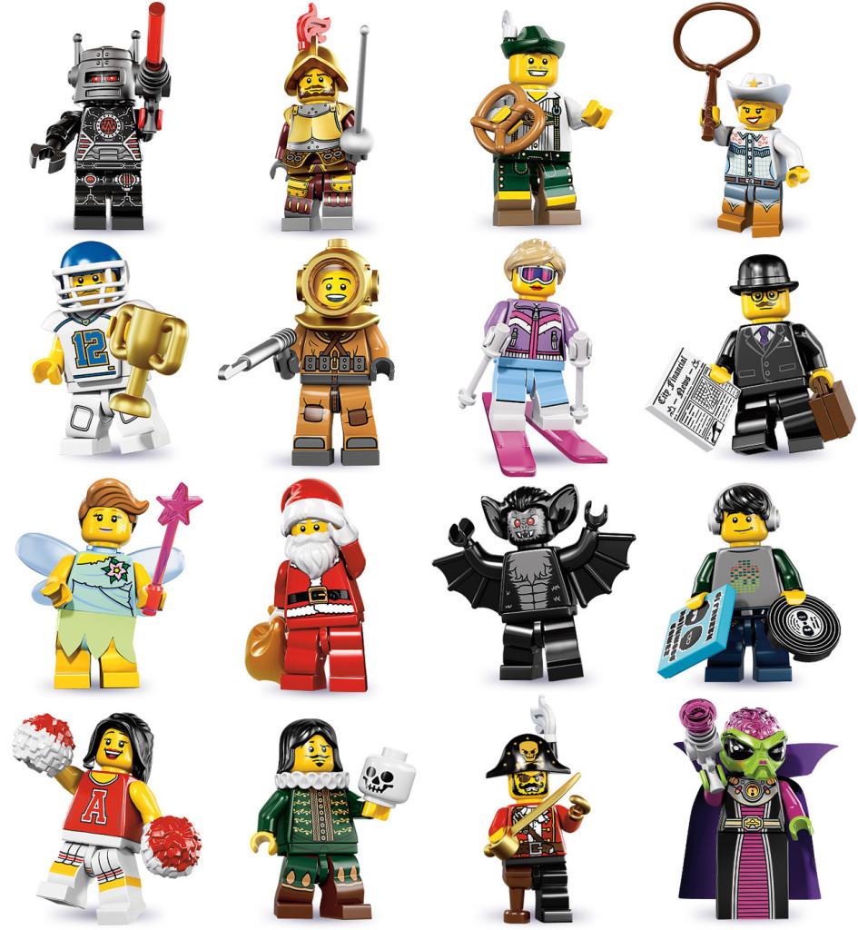 tutte le serie lego minifigure - serie 8