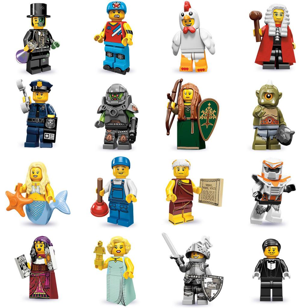 tutte le serie lego minifigure - serie 9