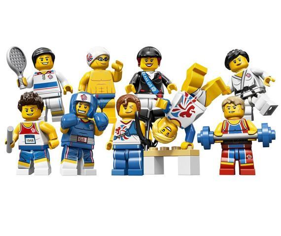 tutte le serie lego minifigure - serie olimpiadi