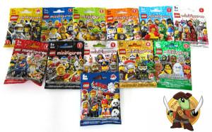 tutte le serie lego minifigures
