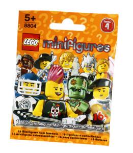 tutte le serie lego minifigures - una bustina di lego minifigures