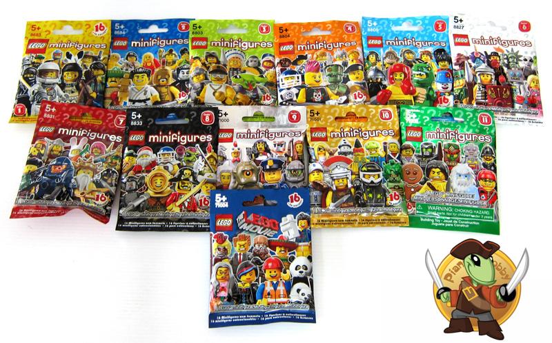 Lego minifigures serie speciali blog di pianeta hobby - Lego inazuma eleven ...