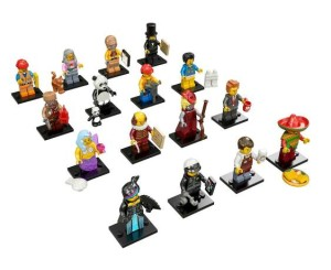 vendita on line box serie completa minifigures lego movie