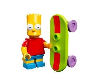 lego minifigures bart simpson