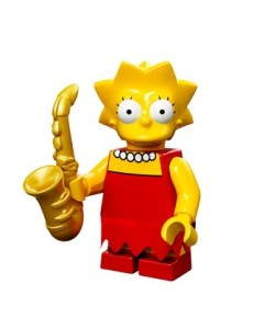 lego minifigures lisa simpson