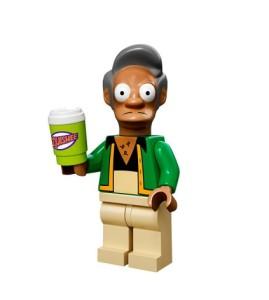 lego minifigures simpson Apu