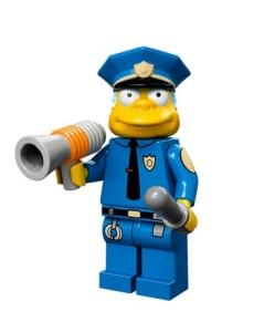 lego minifigures simpson Capitano Wiggun