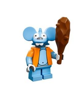 lego minifigures simpson Itchy