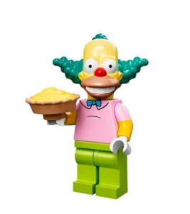 lego minifigures simpson Krusty il Clown