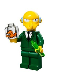 lego minifigures simpson Mr. Burns