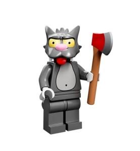 lego minifigures simpson Scratchy