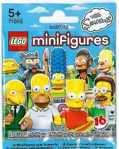 lego minifigures simpson
