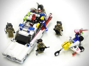 LEGO-Ghostbusters-ecto-1 kit completo